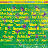 Flora & Adrian festival line-up