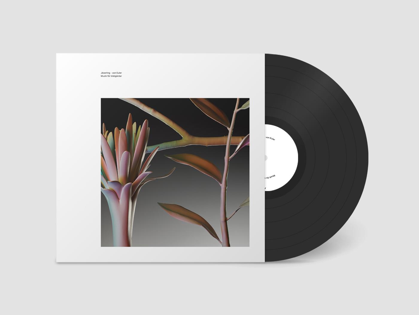Cover for the LP Musik för trädgårdar by Jäverling ◇ von Euler