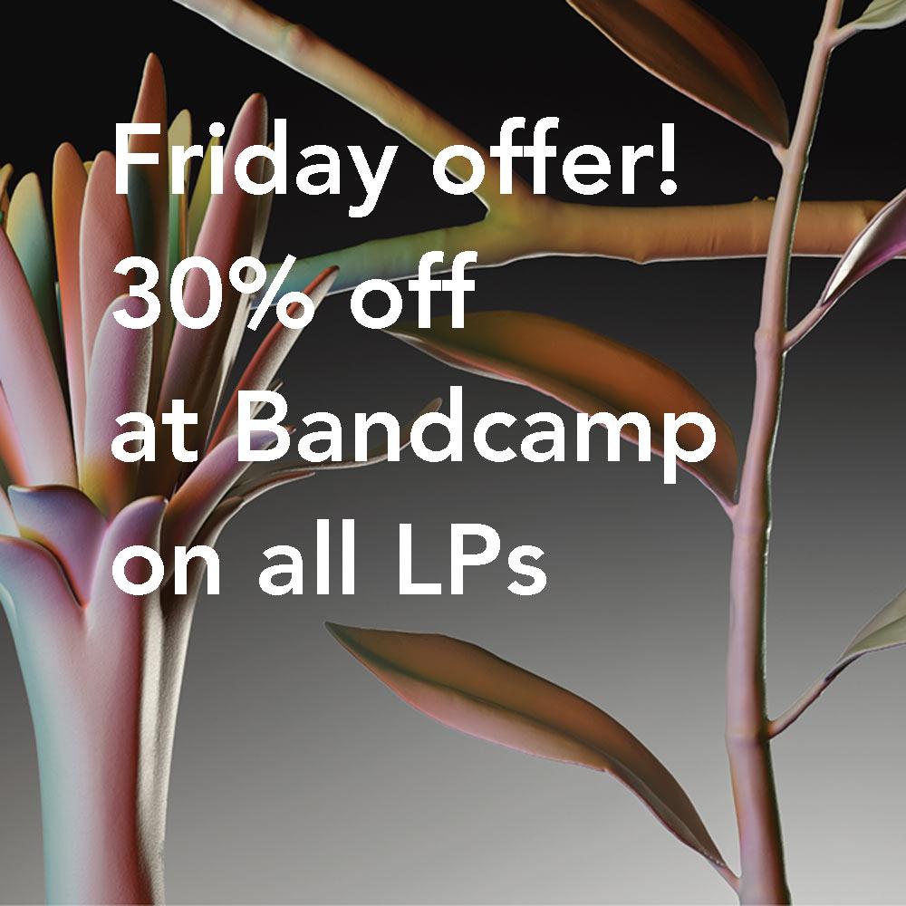 30% off at Bandcamp