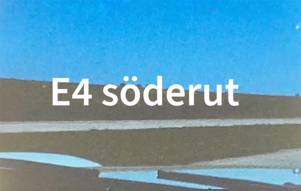 E4 söderut - Virke cover