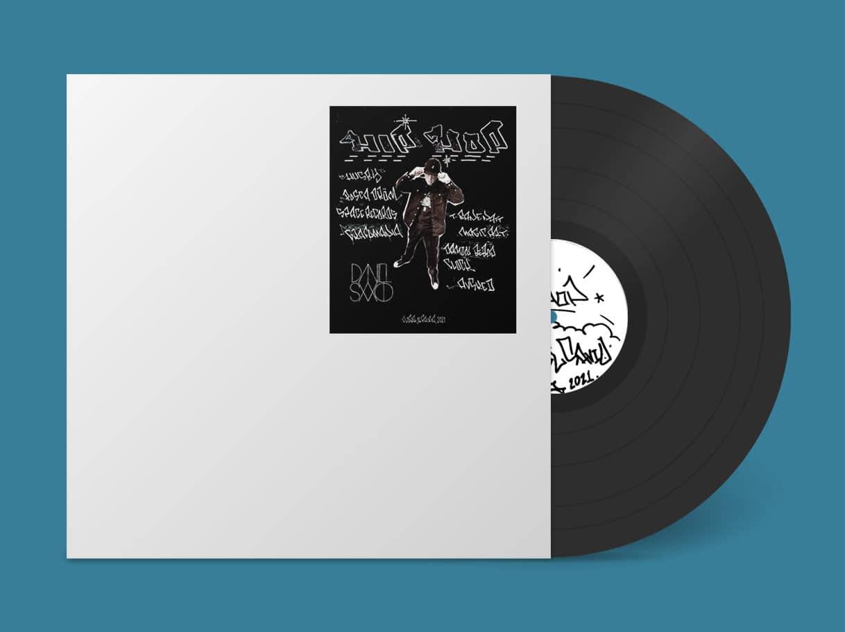 Re-press Daniel Savio Hip Hop cover