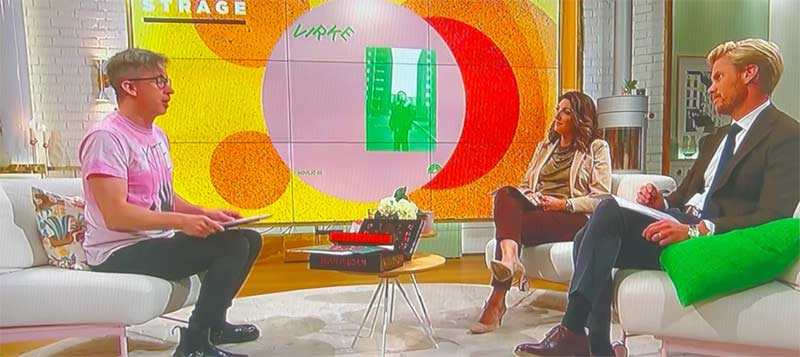 Virke on TV4 nyhetsmorgon with Fredrik Strage